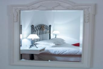 taboo reflection of bed
