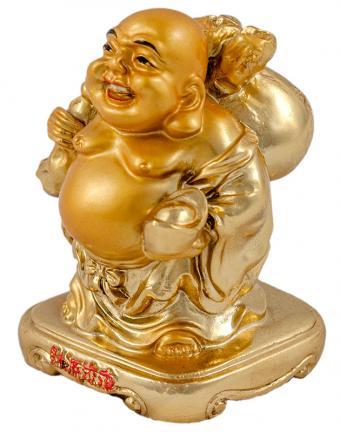 Money Bags Traveling Buddha
