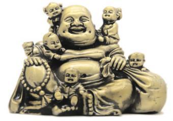 5 Children with Laughing Buddha