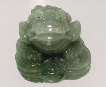 Jadeite money frog