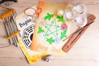 Feng Shui with five elements