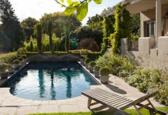 Luxury villa and swimming pool