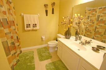 Earth Element Bathroom Colors