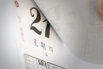 Feng Shui Ideas for Auspicious Calendar Placement