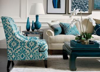 Ethan Allen Dynasty Square Coffee Table