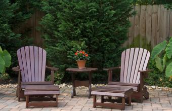 Feng shui compliant backyard design