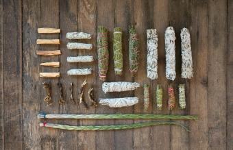 Herbs, Resins, and Wood