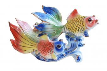 Double Golden Fish