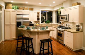 modern kitchen home interior