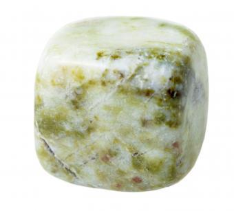 Tumbled Moss agate