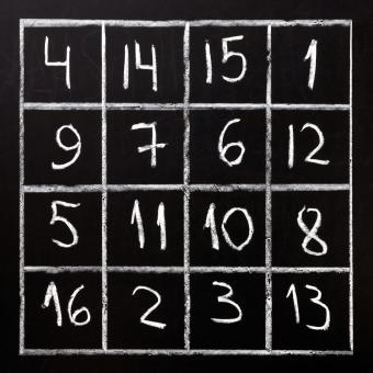 Examples of Math Magic Squares
