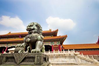 Dragon in Forbidden City, Beijing