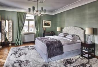 Bedroom in a luxury villa in Leipzig