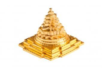 Golden pyramid used in Vastu