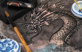 Meaningful Drawings of Chinese Dragons