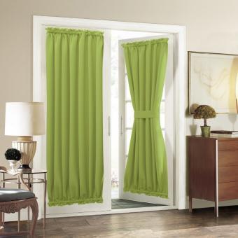 Aquazolax French Door Curtain Panels