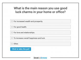 good luck charms poll