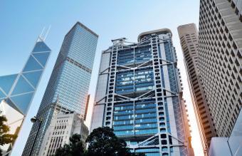 HSBC Building in Hong Kong