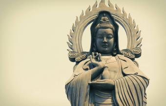 Quan Yin Statue The Goddess of Mercy