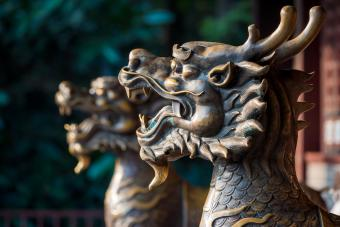 Pixiu and traditional Chinese arts and architecture
