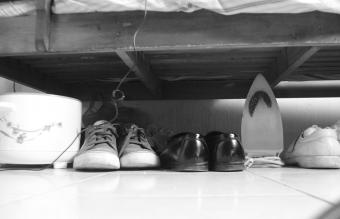 Feng Shui Shoes Under Bed