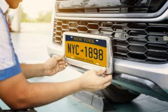Car plate numbers and feng shui