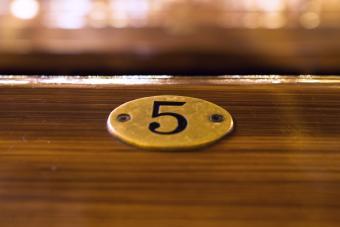 Feng shui number 5