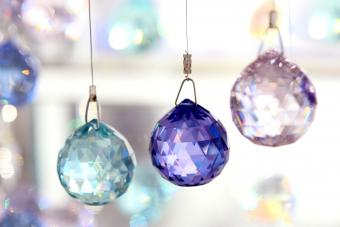Hanging Crystals in Windows for Positive Feng Shui Energy