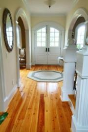 Uncluttered entrance allows chi energy to enter and flow through house.