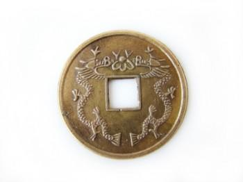 Authentic feng shui coin