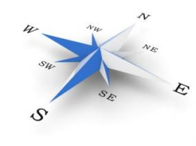 It's important to locate magnetic North when using Compass Feng Shui.