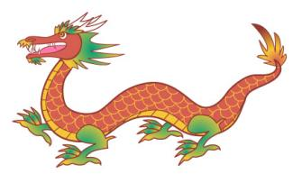 chinese dragon clip art rh feng shui lovetoknow com clip art dragon pictures clip art dragon pictures