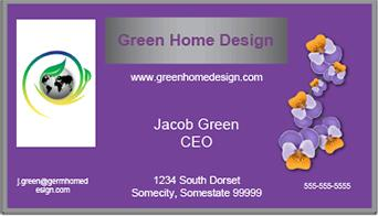 Free feng shui business card design lovetoknow click to open the purple card file colourmoves