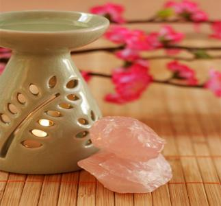 Aromatherapy and crystals