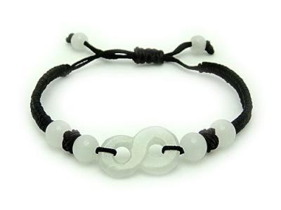 Jade Auspicious 8 Bracelet