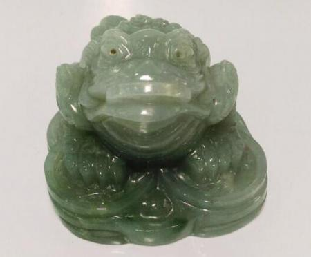 Jadeite money frog