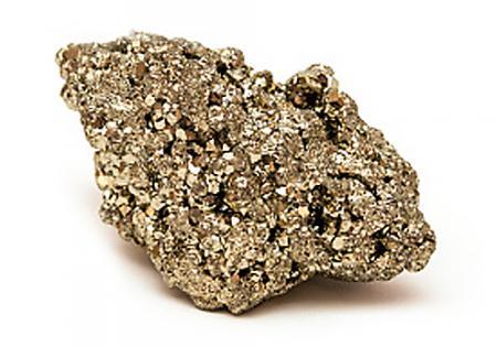 Iron pyrite stone