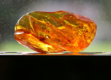 Amber gemstone