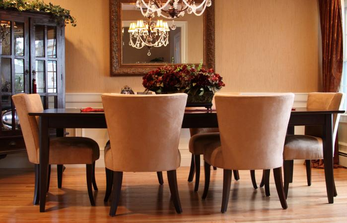 Best color for dining room feng shui lovetoknow Feng shui dining room colors