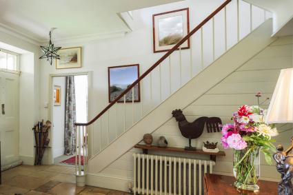 Staircase to livingroom