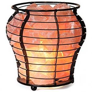 Himalayan Salt Vase Lamp