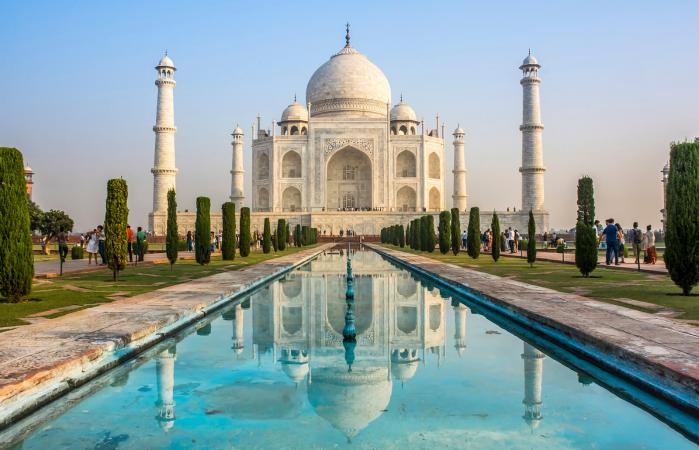 The Taj Mahal, an architectural example of the Golden Ratio