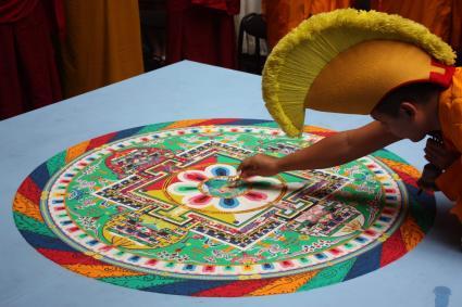 Tibetan Buddhist mandalas