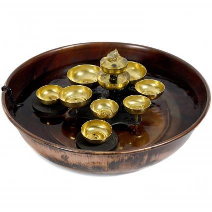 Oriental Furniture Water Bell Fountain