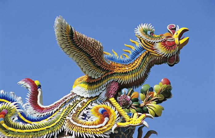 Confucius Temple, mythical phoenix