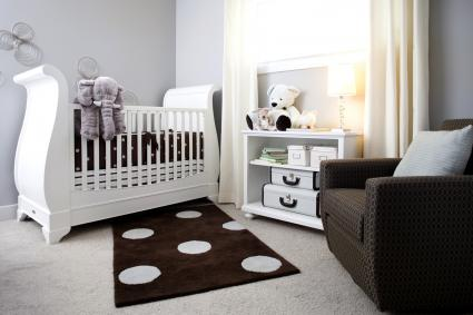 Stylish nursery