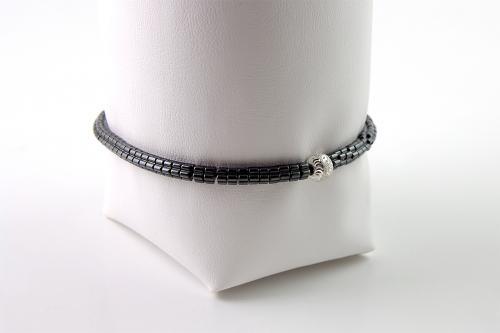 Hematite anklet or bracelet