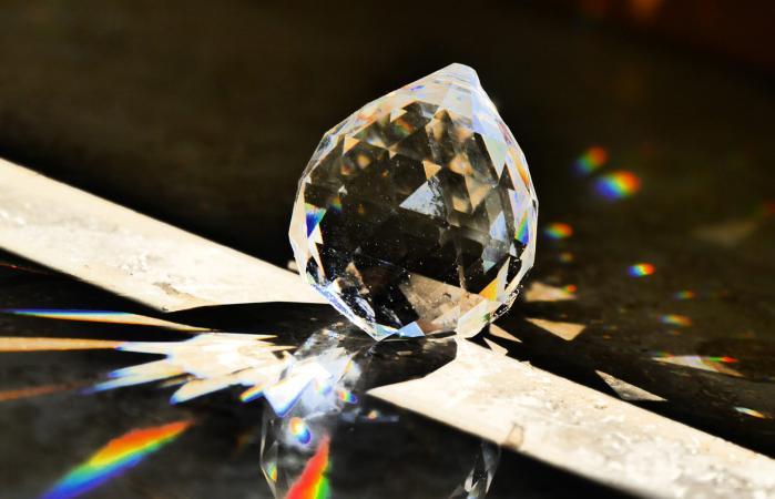 Crystal On Floor
