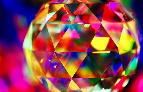 Faceted Crystal Ball
