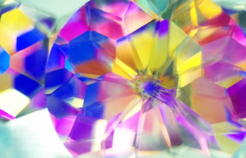 Crystal Prism Spectrum